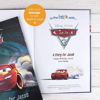 Personalised Disney Cars 3 Story Book - Shop Personalised Gifts