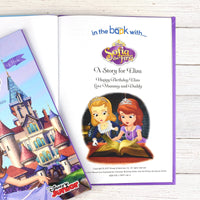 Personalised Disney Jr Sofia the First Story Book - shop-personalised-gifts