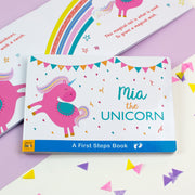 Personalised Unicorn Board Book - Personalised Books-Personalised Gifts-Baby Gifts-Kids Books