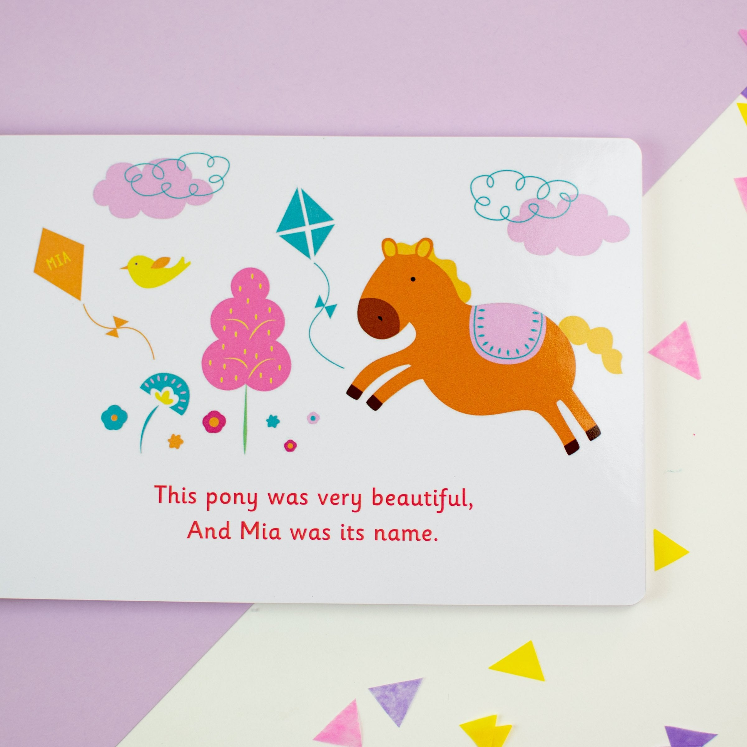 Personalised Unicorn Board Book - Shop Personalised Gifts