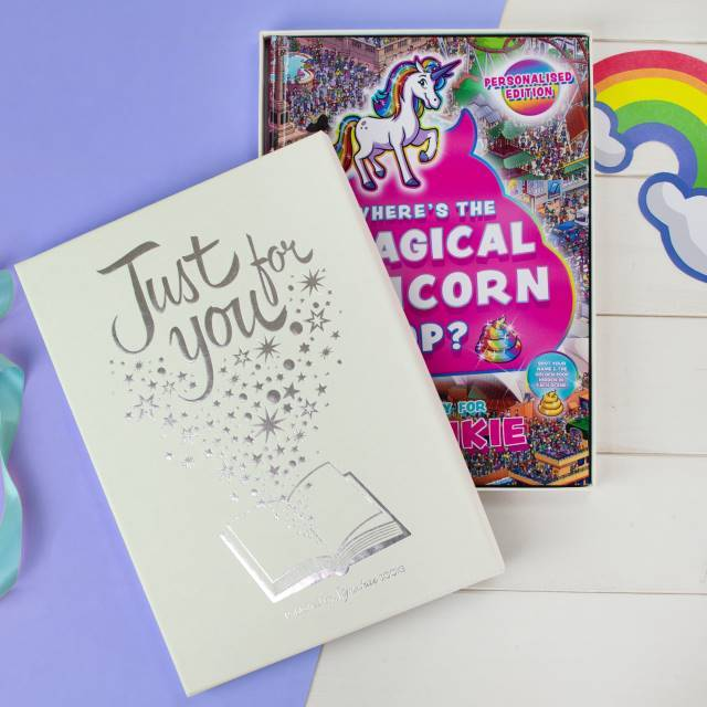 Personalised Where's the Magical Unicorn Poop Book - Shop Personalised Gifts
