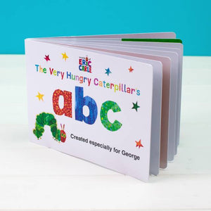 Personalised Very Hungry Caterpillar Board Book – ABC - Shop Personalised Gifts