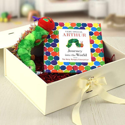 Hungry Caterpillar Personalised Book and Toy Gift Set - Personalised Books-Personalised Gifts-Baby Gifts-Kids Books
