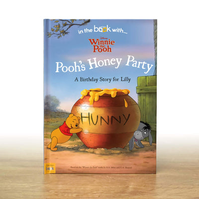 Personalised Disney Winnie the Pooh Birthday Storybook