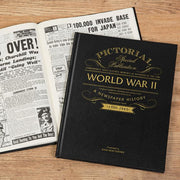 WW2 Pictorial Edition Personalised  Newspaper Book - Shop Personalised Gifts