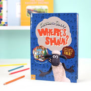 "Personalised ""Where's Shaun?"" - Shaun the Sheep Book - Shop Personalised Gifts"