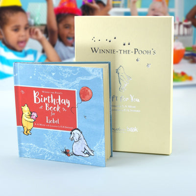 Personalised Winnie-the-Pooh Birthday Book - Shop Personalised Gifts