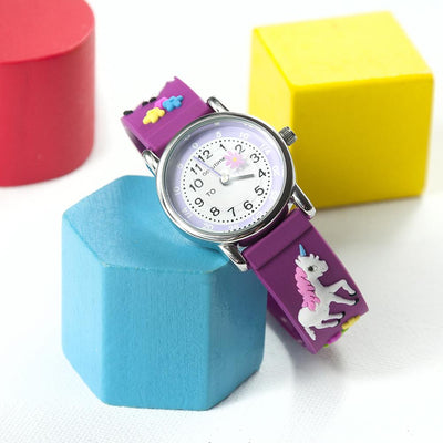 Kids Personalised Girls Unicorn Watch - Shop Personalised Gifts
