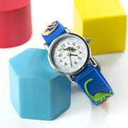 Kids Personalised Boys Dinosaur Watch - shop-personalised-gifts
