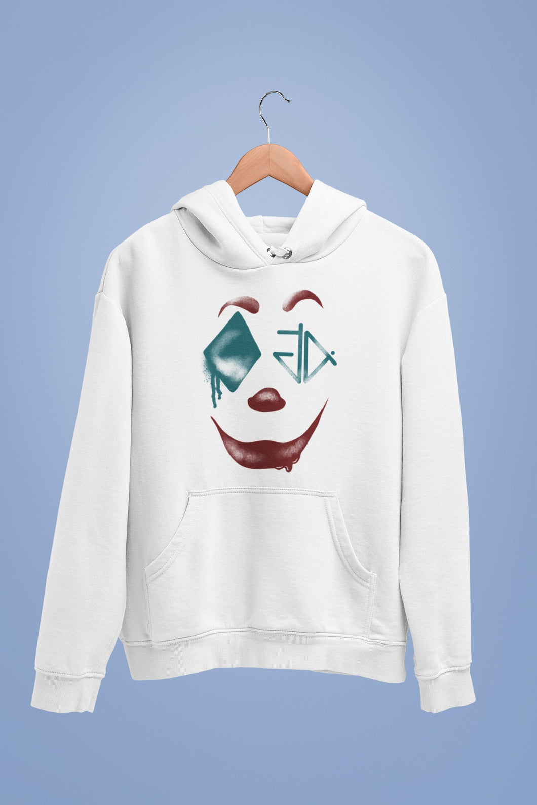 Crying with laughter pullover hoodie