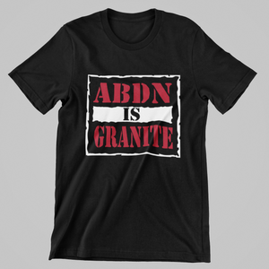 ABDN IS GRANITE T-SHIRT