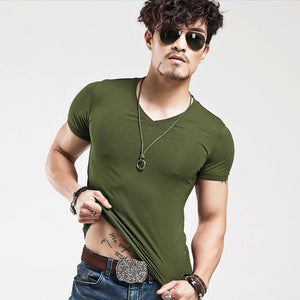 2019 MRMT Brand Clothing 10 colors Men T Shirt Fitness T-shirts Mens V neck Man T-shirt For Male Tshirts S-5XL Free Shipping