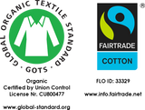 GOTS Fairtrade certified