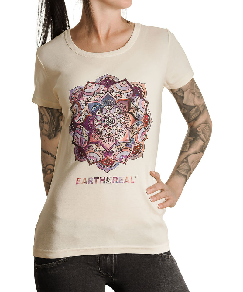 T-shirt Organic & Fairtrade W's - Cosmic Elephant