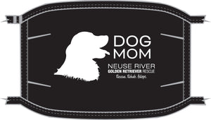 Dog Mom Mask (Golden Retriever)