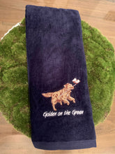 Load image into Gallery viewer, Golden on the Green Golf Towel