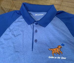 Men's Sport-Tek Golden on the Green Golf Shirt