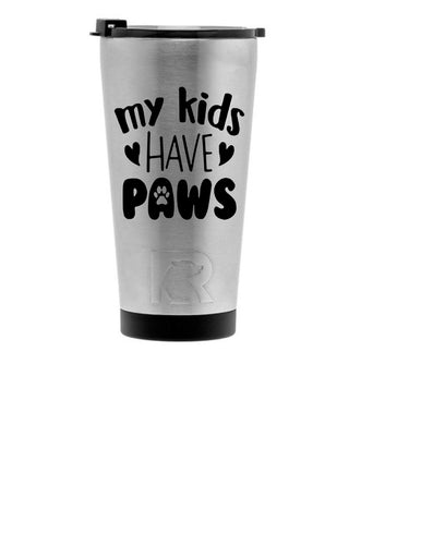 RTIC Pint Tumbler with quote