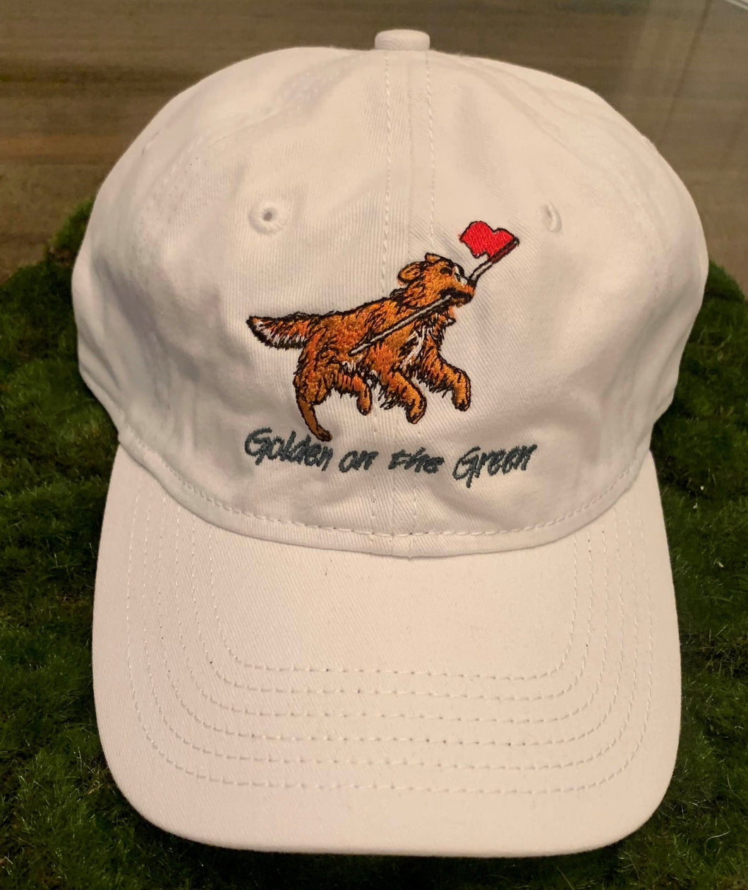 Golden on the Green Golf/Baseball Hat