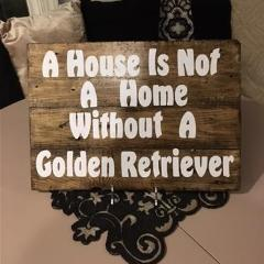 Customized Wood Palette Sign