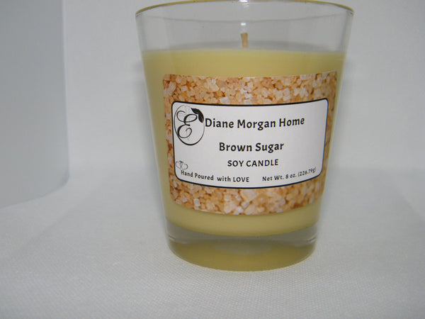 Brown Sugar Candle  8 oz.)