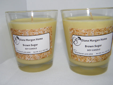 Brown Sugar Candle  ( 8 oz.)