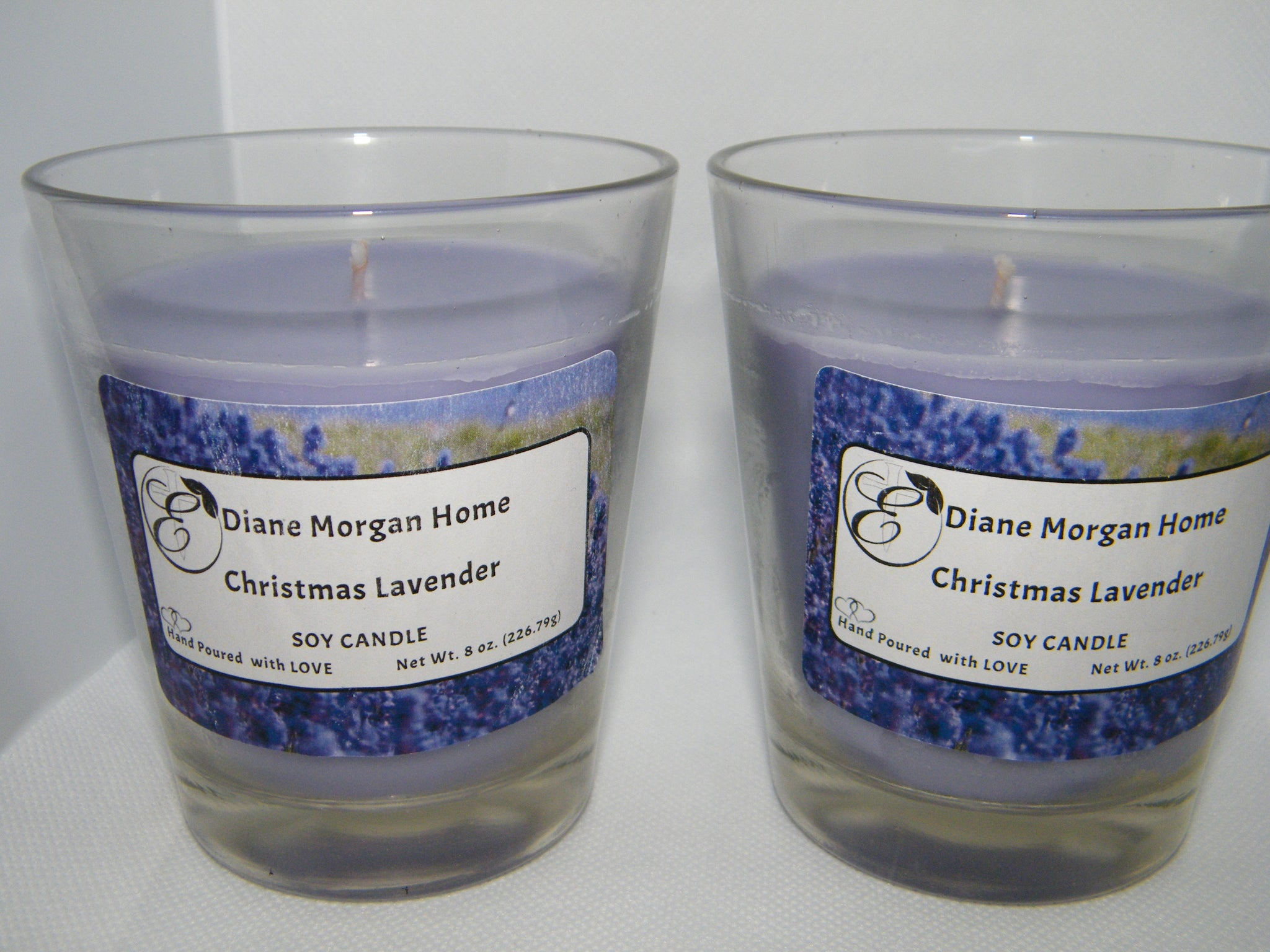Christmas Lavender Candle  ( 8 oz.)
