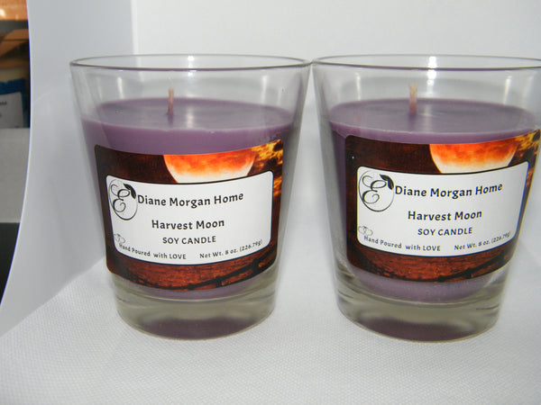 Harvest Moon  Candle  (8 oz.)