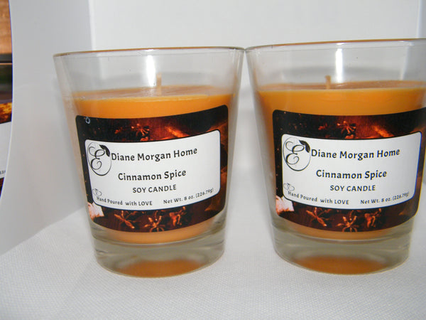 Cinnamon Spice  Candle (8 oz.)