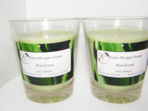 Aloe Grove  Candle  (8 oz.)