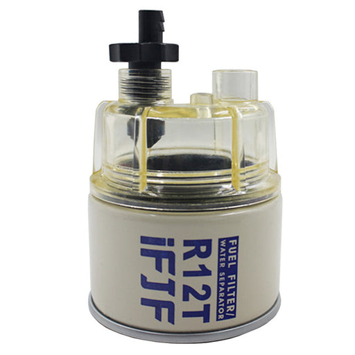 iFJF Fuel Filter R12T with Nylon Bowl 120AT NPT ZG1/4-19 Replacement of Racor Water Separator