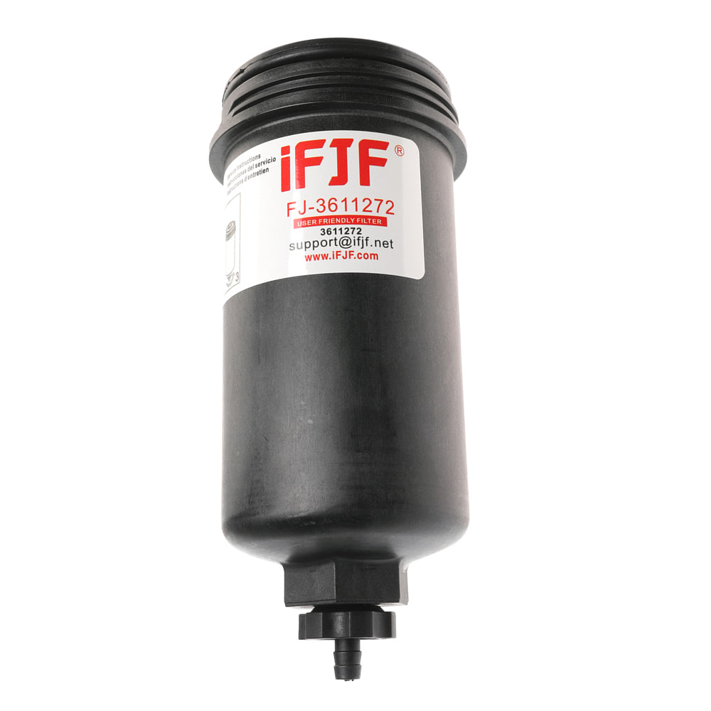 iFJF 3611272 Fuel Filter Assembly Replaces 3611272 Genuine Perkins Fuel Filter Assembly, with fuel filter element 3611274, Compatibility 850 / 1100 / 1200 Series