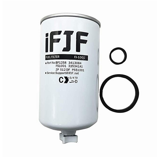 iFJF FS1001 Fuel Water Separator Combo for HD Titanium Platinum Series Systems Pump Cummins 3413084