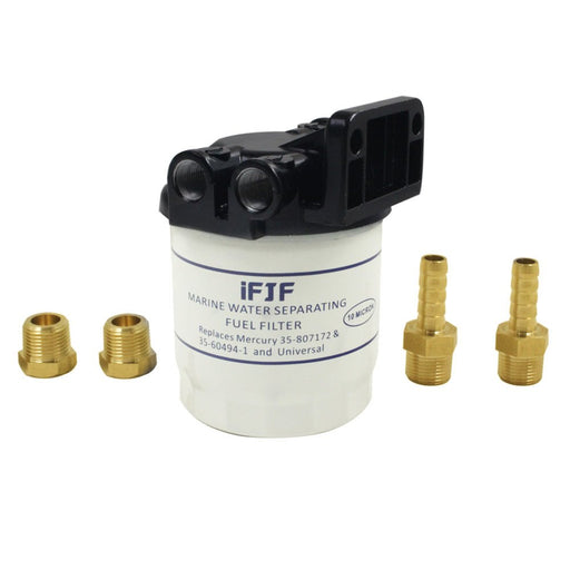 iFJF Marine Fuel Water Separator 10 Micron 18-7983-1 Replace Mercury-35-807172, 35-60494-1,1-18-7944