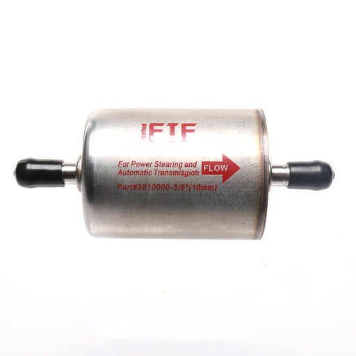 "iFJF 3/8"" Magnetic Inline Automatic Transmission Filter Replacement 71200 for Toyota Nissan Land Rover Ford Honda Power Steering Filter"