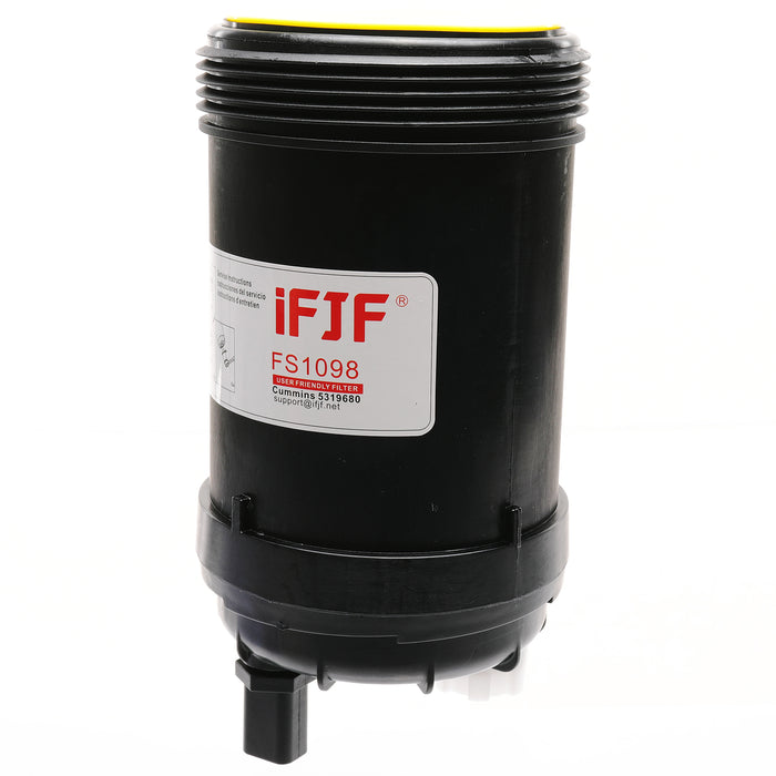 iFJF FS1098 Fuel and Water Separator PCV Valve for Cummins, an Element for FH21462, Cross to 5308722, 5319680, FS20038