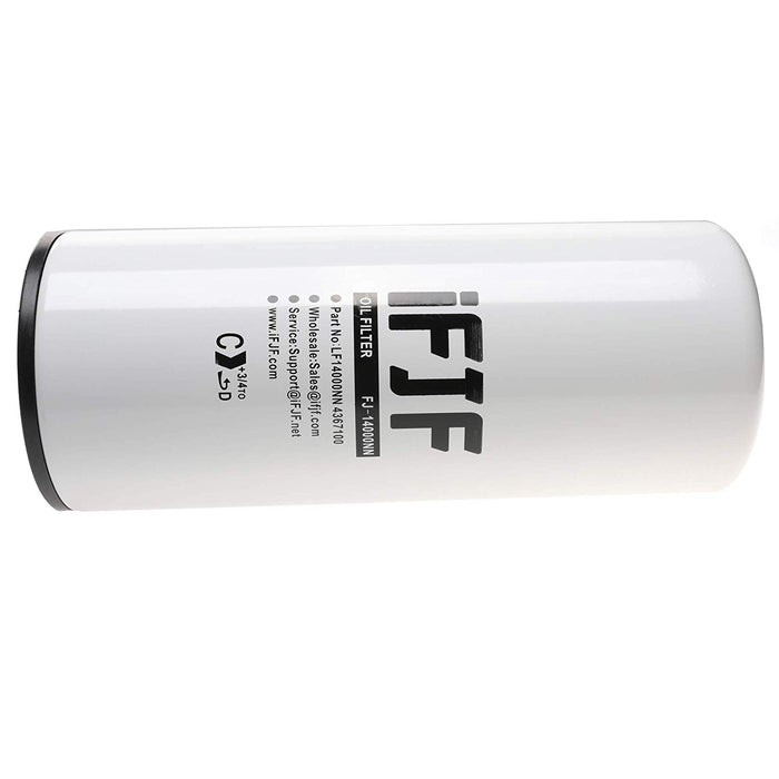 LF14000NN Lube Oil Filter for Cummins ISX ISM QSX QSM and M11 Engines  Replaces LF9080 LF9001 BD7154 57746XD LF9080 4367100