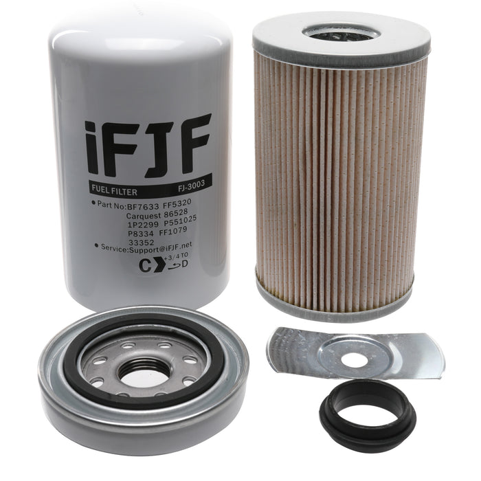iFJF FS1003 Fuel Water Separator Spin On for Cummins Replace 3406889 Diesel Parts Engine Maintenance