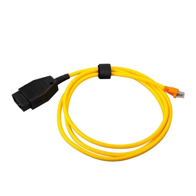 For BMW ENET (Ethernet to OBD) Interface Adapter E-SYS ICOM Coding for BMW  F-series ENET Cable Interface for BMW Free Shipping