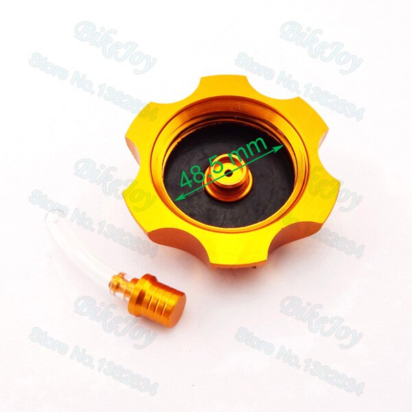 Gold Gear Shifter Lever & Gas Fuel Tank Cap Cover For Chinese 50cc -160cc  Pit Dirt Bike SSR CRF50 Thumpstar Motorcycle