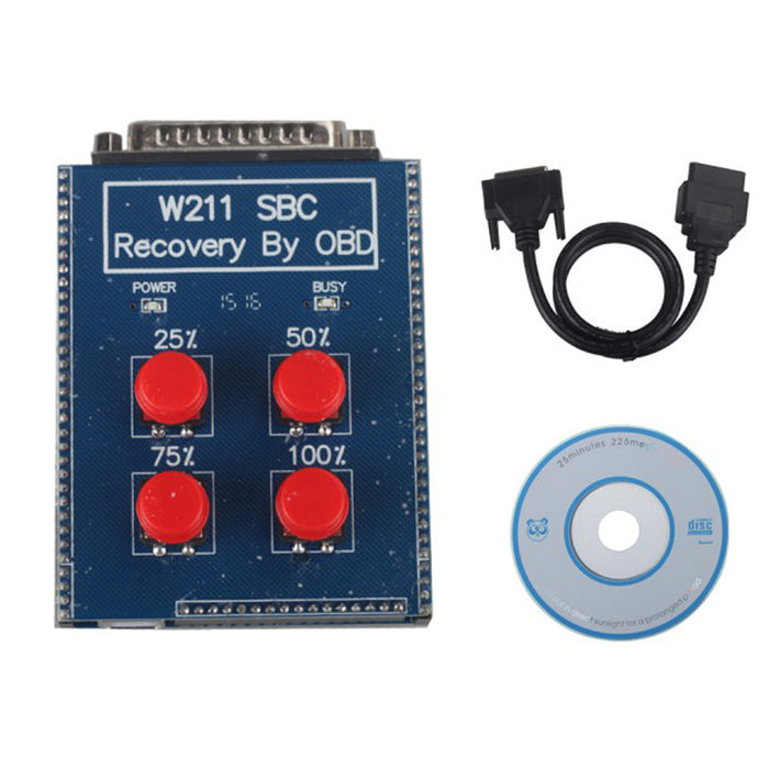 W211/R230 ABS/SBC Tool (Repair Code C249F) for Mercedes-Benz with ABS SBC  System Reset Tool