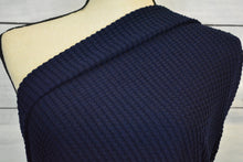 Load image into Gallery viewer, ALYSON--OVERSIZE WAFFLE KNIT--NAVY