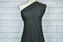 Load image into Gallery viewer, JILLIAN--STRETCH FLEECE--HEATHER BLACK--BABY SKIN SOFT
