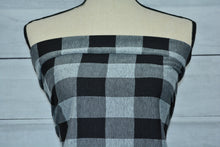 Load image into Gallery viewer, LIBBY--JACQUARD DOUBLE KNIT--BUFFALO PLAID