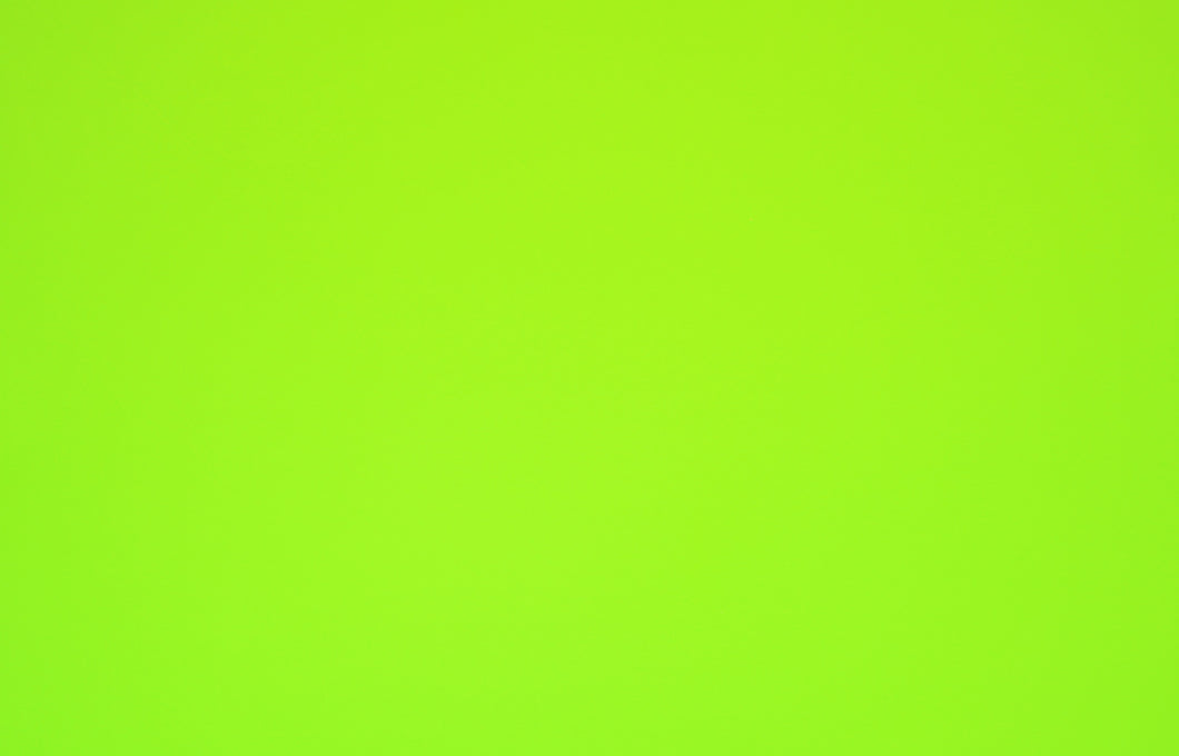MEGAN--NEON GREEN ATHLETIC BRUSHED POLY