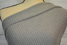 Load image into Gallery viewer, MONIQUE-OVERSIZE WAFFLE KNIT--GRAY