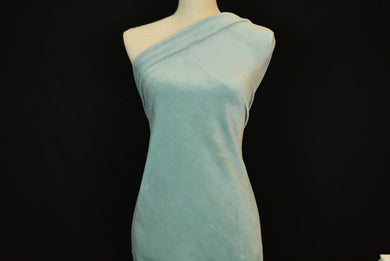 SONIA--VELOUR KNIT--MINT