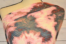 Load image into Gallery viewer, WILLOW--BRUSHED WAFFLE KNIT--TIE DYE