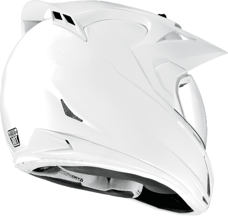 Casco Icon Variant Solid White