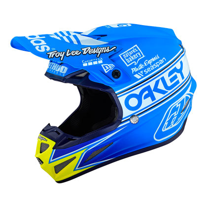Casco Troy Lee SE4 Comp Team Edition 2 Ocean ALL2BIKES
